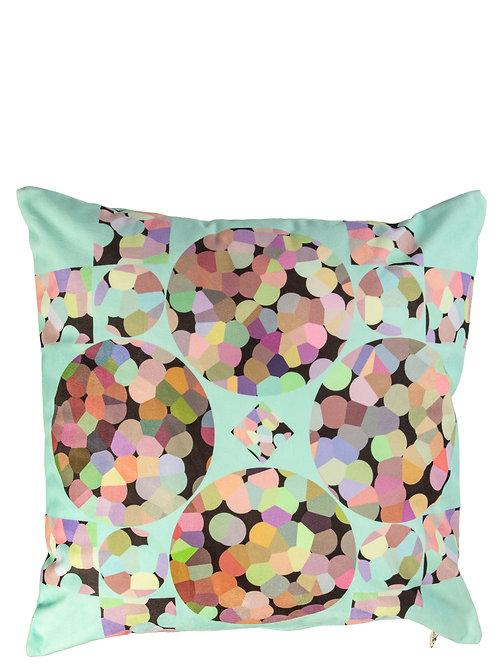 Diamond Bubble - velvet (maxi print)cushion