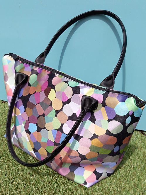 Bubble - Tote bag (satin or leather)