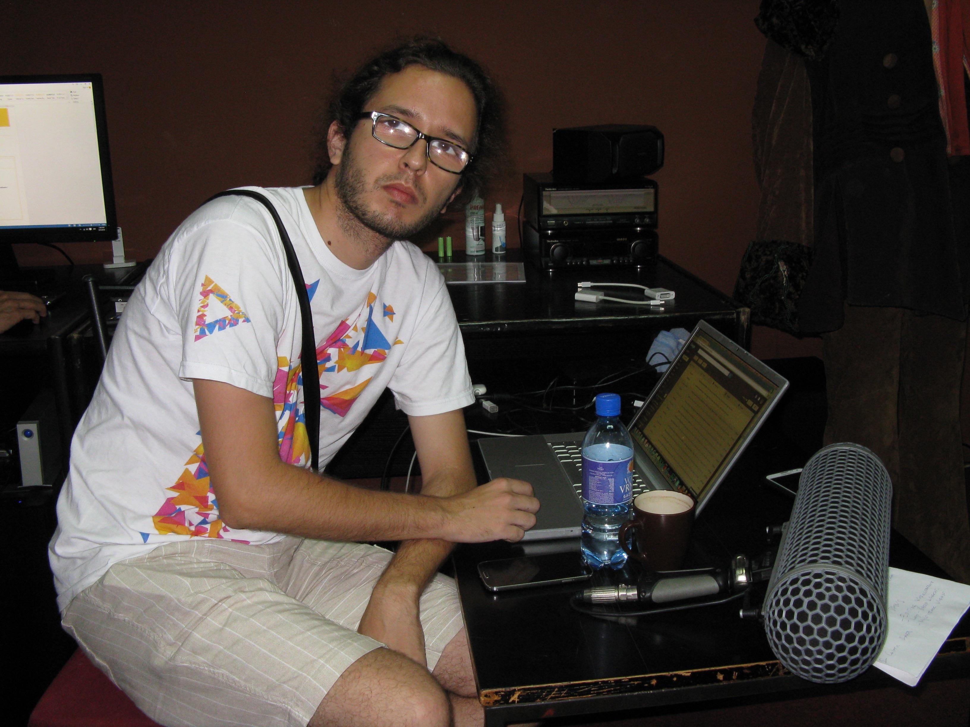 Luka Barajević, dizajner zvuka