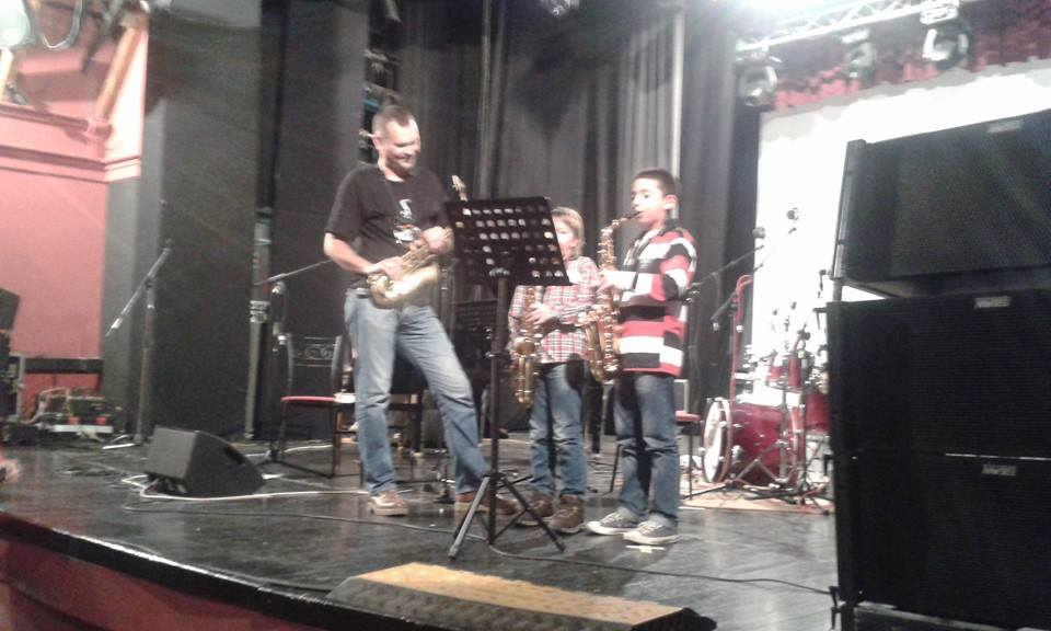 Saxophone Masterclass