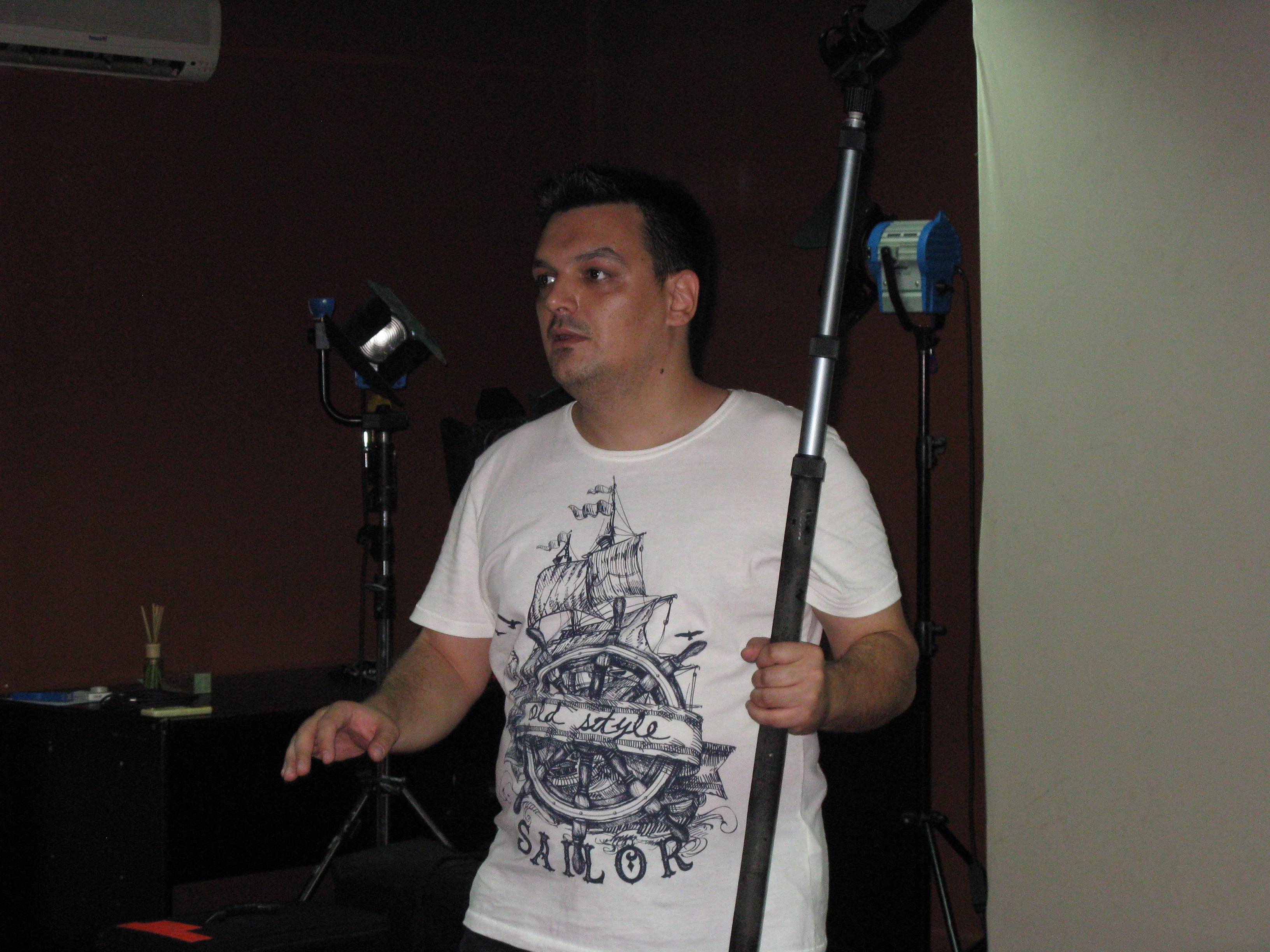 Slobodan Vulić, dizajner zvuka