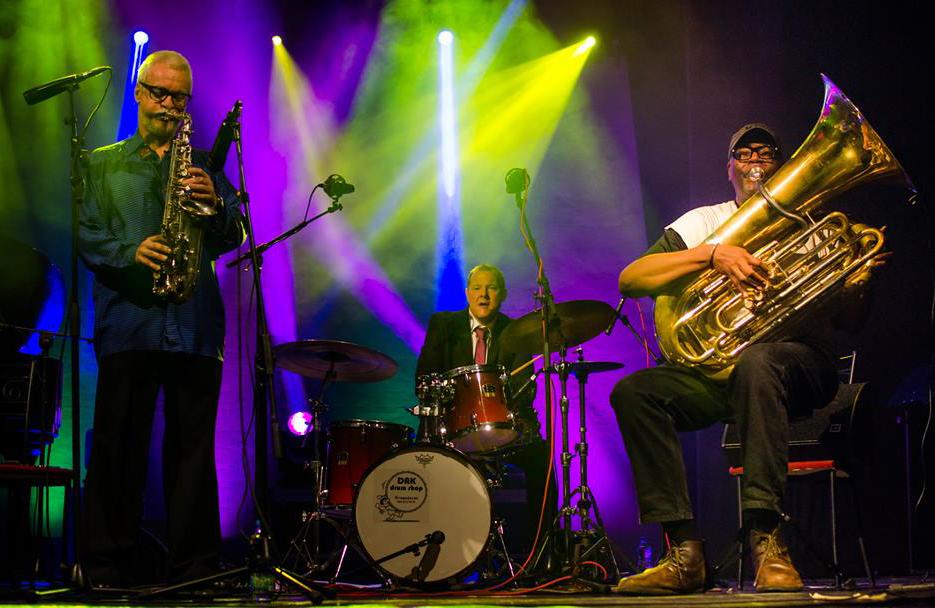 Wolfgang Pushing Trio 6 - Kragujevac JazzFest IJFK 2014