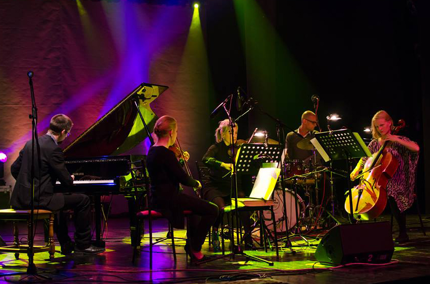 Jacob Anderskov strings, percussion & piano 5 - Kragujevac JazzFest IJFK