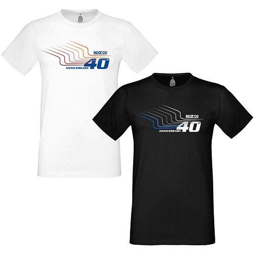Camiseta 40TH Sparco