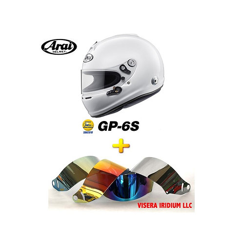 Pack Arai GP-6S + Visera LLC