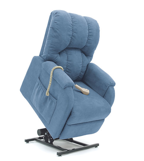 C-1 Accented Pillow Back Arctic Blue Lif