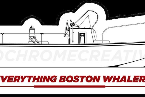 Everything Boston Whaler Montauk Hull Decal