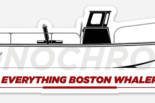 Everything Boston Whaler Sakonnet / Nauset / Easport Hull Decal