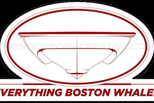 Everything Boston Whaler Hull Decal