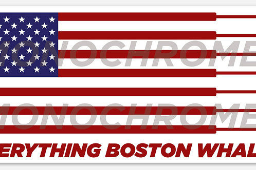 Everything Boston Flag Hull Decal