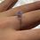 Thumbnail: Kristal Ring (Silber)
