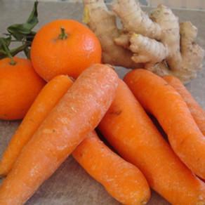 Smoothie carotte-mandarine