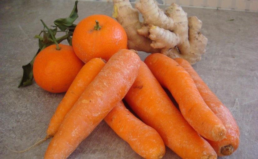 smoothie carottes mandarine gingembre