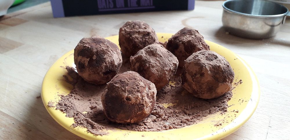 Truffes healthy cacao