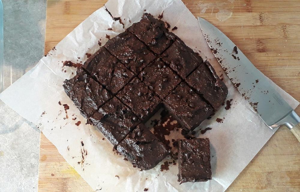 recette brownie vegan sans gluten
