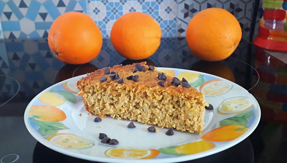gâteau cake orange sans gluten sans farine