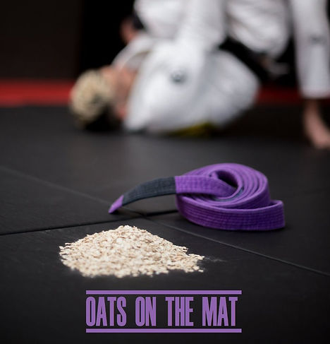 Oats on the mat jiu jitsu brésilien