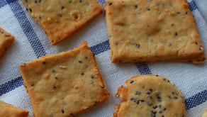 Crackers aux graines - sans gluten