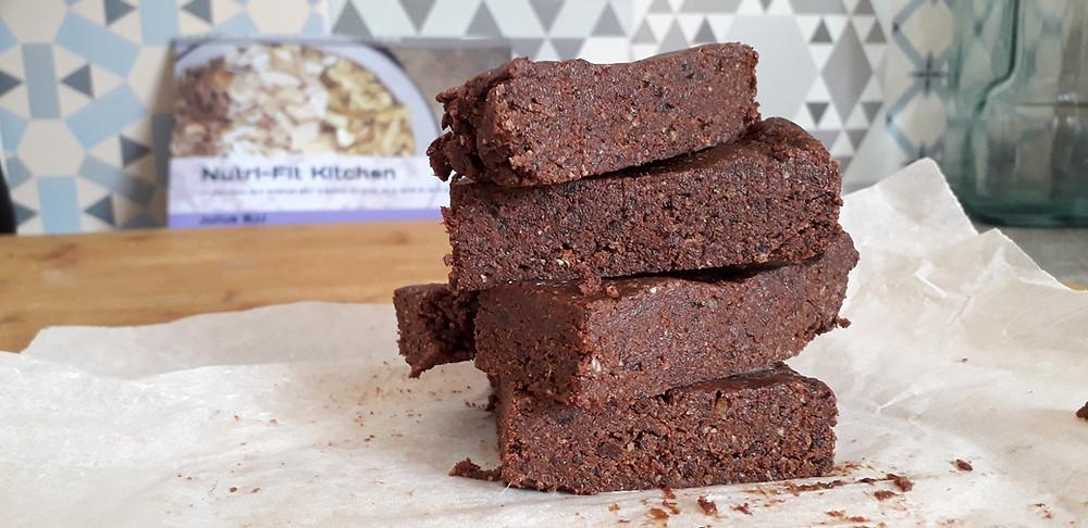 Brownie protéiné barres protéinées fait maison