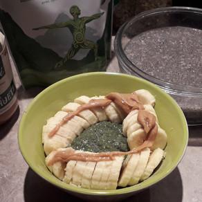 Chia banana bowl