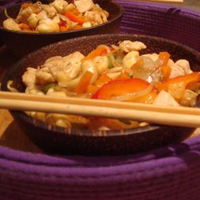 Kaï pad med mamuang - Poulet sauté thaï aux noix de cajou