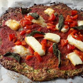 Pizza Végétarienne - Low carb