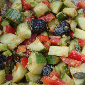 Salade d'été improvisée