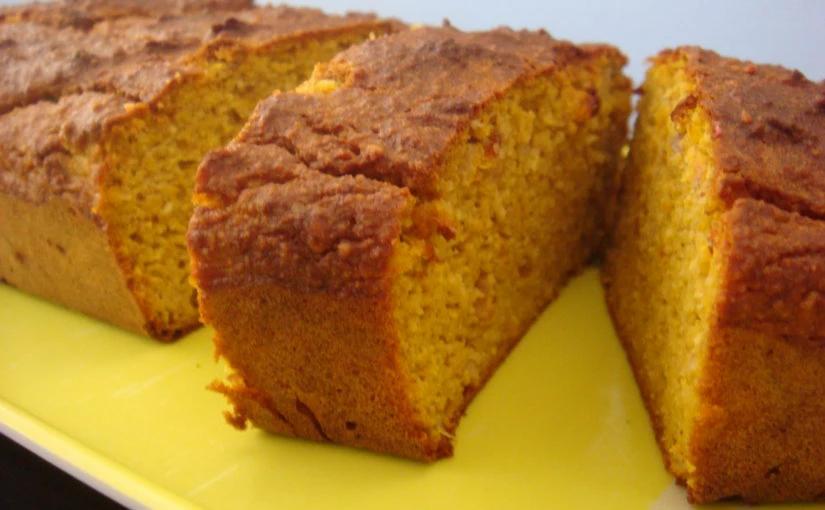 recette de cake à la courge