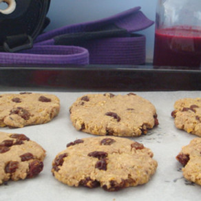Cookies sans gluten - 4 ingrédients