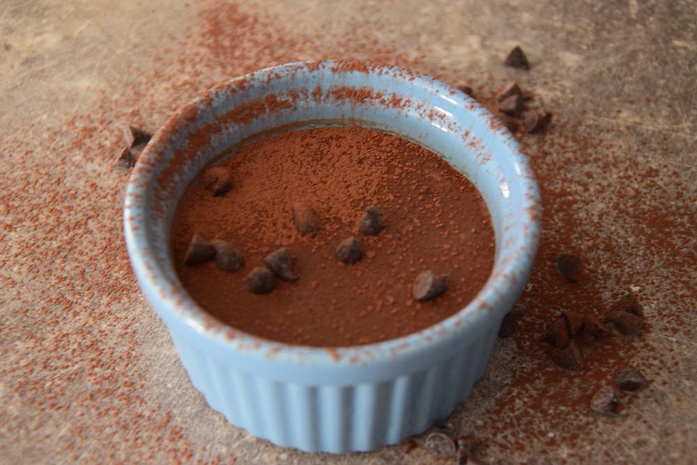 Crème chocolat cétogène