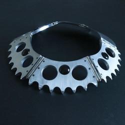 Bike Sprocket Necklace