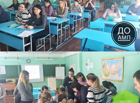 Семинар для молодых педагогов г. Сосновоборска