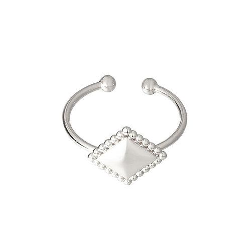 Ring 'Diamond Medal' - Zilver