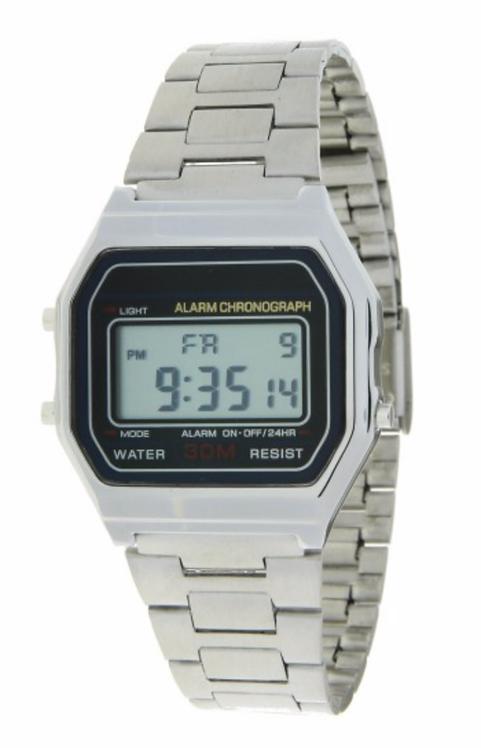 Horloge 'Old Skool' - Zilver