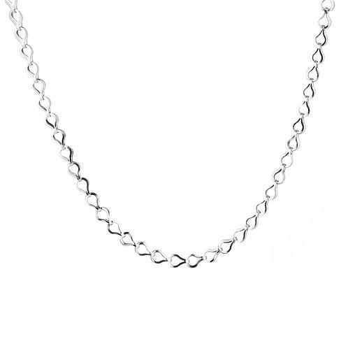 Drip Chain - Zilver