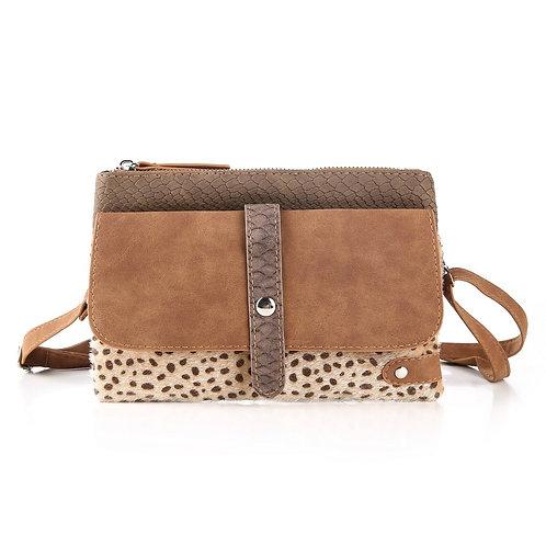 The Brown Leopard - Crossbody Bag