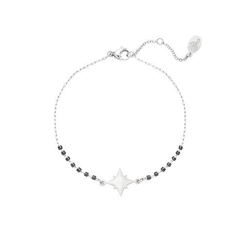 Armband 'Star Gate' - Zilver