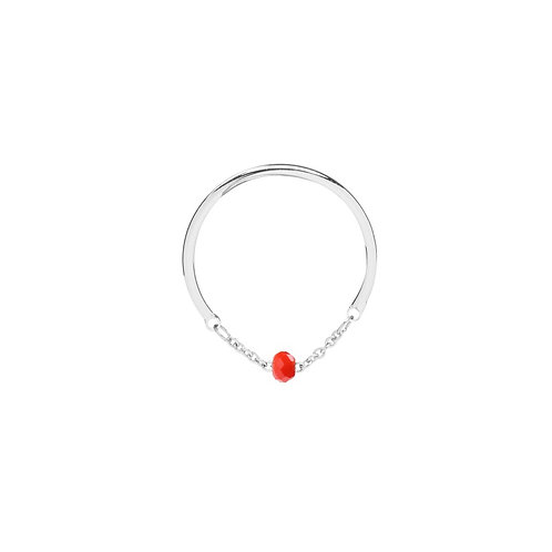 Ring 'Color Stone' - Rood