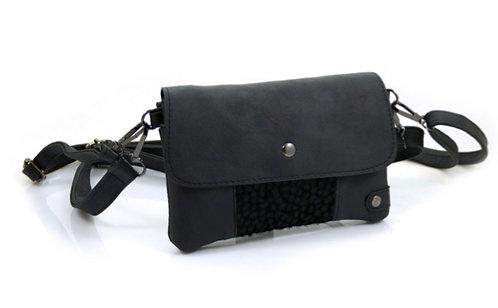 The Black Cheetah - Crossbody Bag