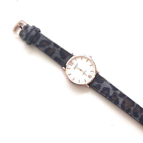 Horloge 'Panter' - Grijs