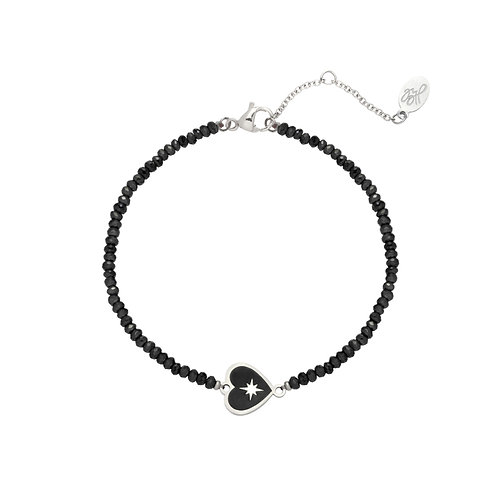 Armband 'Charm with Me' - Zilver