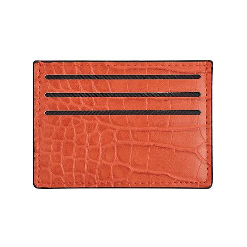 Pasjeshouder Croco - Oranje