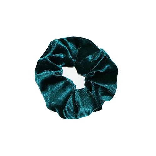 Velvet Scrunchie - Groen