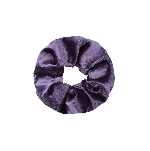 Velvet Scrunchie - Purple Rain