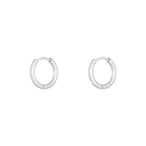 Small Basic Hoops - Zilver