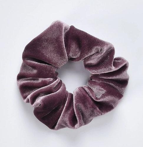 Velvet Scrunchie - Lavender