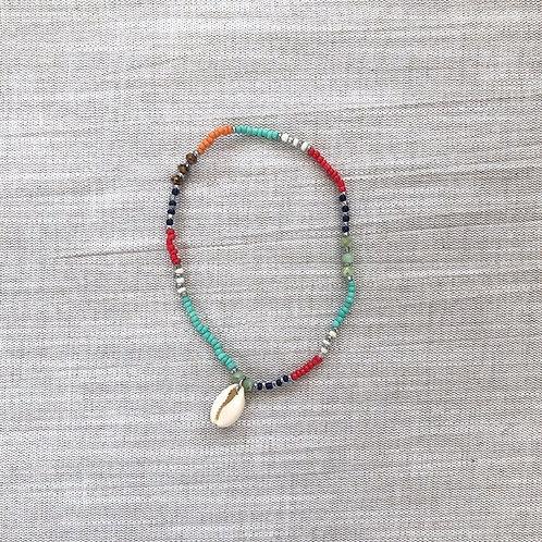 IBIZA - Enkelbandje - 'Multicolor'