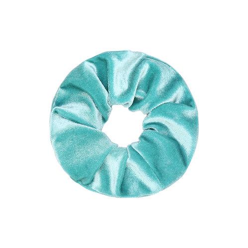 Velvet Scrunchie - Turquoise