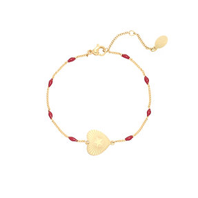 Armband 'Beating Heart' - Goud