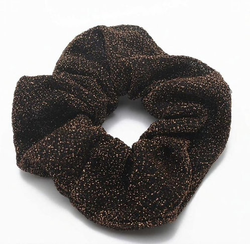 Glitter Scrunchie - Copper